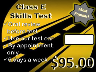 road test, driving test, online learners permit, learners