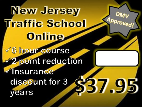 Florida Learners Permit >> New Jersey 6 hour traffic school defensive driving test ...